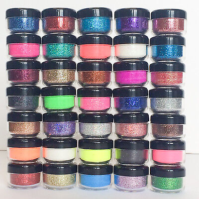 Holographic Iridescent Glitter Pots Fine High Quality Nail Body Face Art Craft • 1.69£