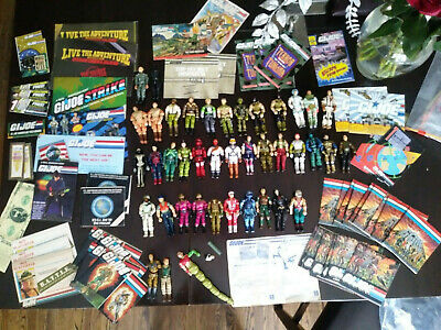 $ CDN2000 • Buy Gi Joe Figures Vehicles Weapons Filecards Blueprints Battle Ribbon Comic Lot