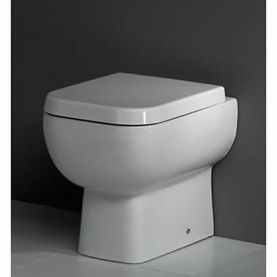 Rak Series 600 Back To Wall Toilet With Soft Close Seat Lifetime Guarantee • 119.95£