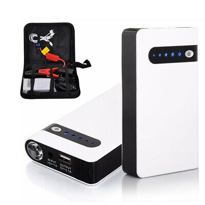 AU55.05 • Buy Portable 20000mAh Car Jump Starter Vehicle Battery Charger Power Bank Engine New