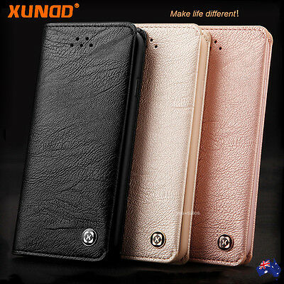 AU14.89 • Buy  Genuine XUNDD NEW Leather Wallet Card Holder Case Cover For IPhone XS 8 7 Plus
