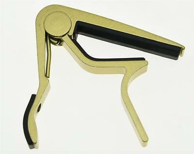 $ CDN7.19 • Buy Gold Acoustic Electric Guitar Capo Metal Quick Release Trigger Tune Key Clamp