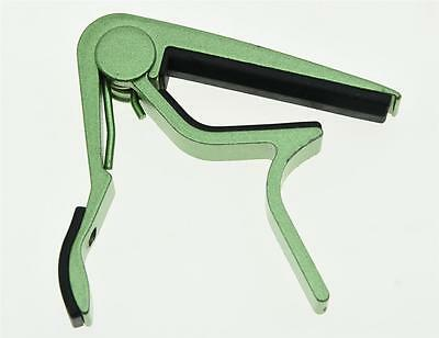 $ CDN7.19 • Buy Green Acoustic Electric Guitar Capo Metal Quick Release Trigger Tune Key Clamp