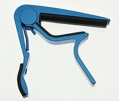 $ CDN7.19 • Buy Blue Acoustic Electric Guitar Capo Metal Quick Release Trigger Tune Key Clamp