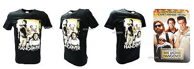 T-shirt Original A Night From Leoni The Hangover Black All Sizes • 19.15£