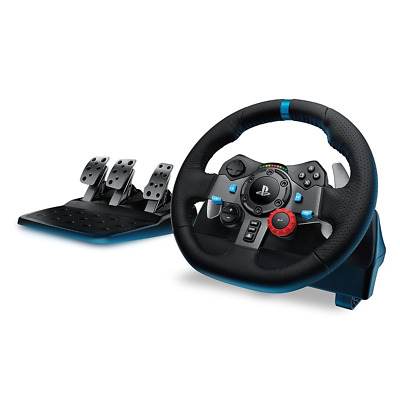 AU400.95 • Buy Logitech G G29 Driving Force Racing Wheel For PS5 PS4 PS3 & PC NEW