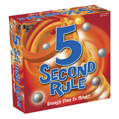 AU37.95 • Buy 5 Second Rule Board Game NEW