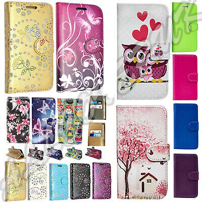Shockproof Protective Premium PU Leather Wallet Flip Stand Case Cover For  LG K8 • 2.49£