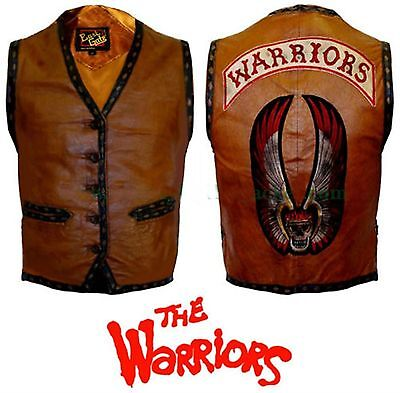 $81.99 • Buy The Warriors Movie Real Leather Vest/Jacket