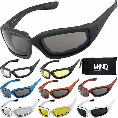 f04652093f WYND Blocker Motorcycle Riding Glasses   Water Sports Fishing Boating  Sunglasses • 19.77