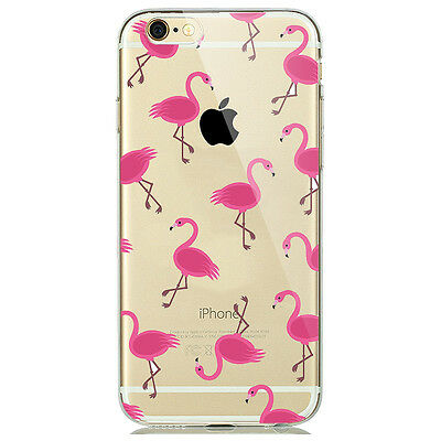 AU5.06 • Buy New Cute Pink Flamingo Trend Fashion Phone Case For Iphone 6/6s