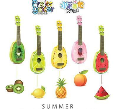 AU18 • Buy 2016 New KIDS Ukulele Guitar Lover Beginners Play Fruit Musical Instrument Toy