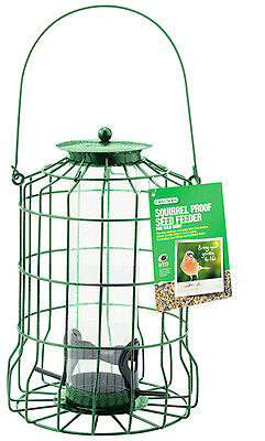 Gardman Guard Bird Seed Feeder Squirrel Proof Garden Hanging Tray A01620 • 13.49£