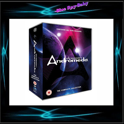 Andromeda - The Complete Collection *** Brand New Dvd Boxset*** • 72£