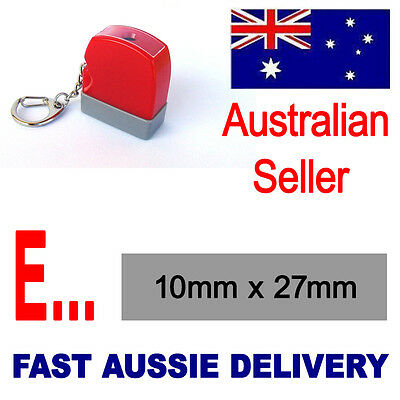 AU10.19 • Buy  ENTERED  Or Personalised Text Name Signature  Rubber Flash Stamp Self Inking