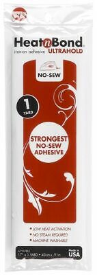 £4.99 • Buy 1yd/93cm Heat N Bond Ultra Hold Iron On Adhesive Appliqué Fabric Patch Quilting