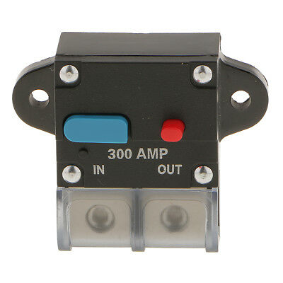 High Current 300 Amp 0 Or 4 Gauge AWG Circuit Breaker 12 Volt Car Audio Fuse • 14.10£