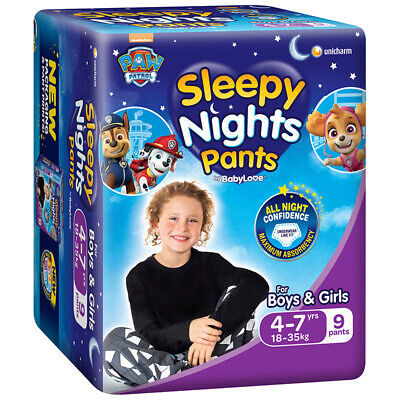 AU9.99 • Buy BabyLove Sleepy Nights 4-7 Years Old 9 Pants