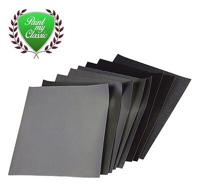 £2.90 • Buy Sand Paper 60g To 3000g Grit Course To Fine Pre Prep & Finishing Paper OPTIONS
