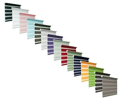 Tropik Home Made To Measure Day And Night Zebra/Vision Window Roller Blinds • 38.90£