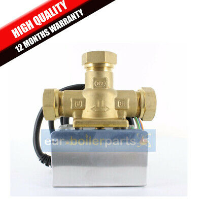 3 PORT MID POSITION VALVE 22mm DIRECT REPLACEMENT HONEYWELL V4073A1039 • 34.50£