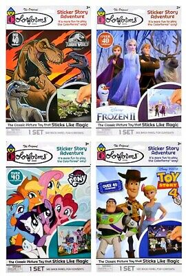 Colorforms Sticker Adventure Sets Great For Car Travel Waiting Room Buy 2 & Save • 6.48£