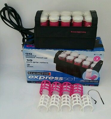 £19.60 • Buy Remington Express Set Instant Heat Rollers Travel Color Changing Pageant H1012N