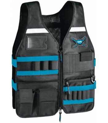 Makita P-72089 Worker's Vest Tool Vest For Carpenters Free Size • 62.94£