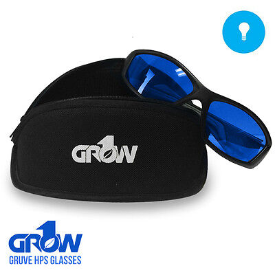 Grow1 Gruve HPS/MH Grow Room Glasses + FREE Carrying Pouch • 16.27£