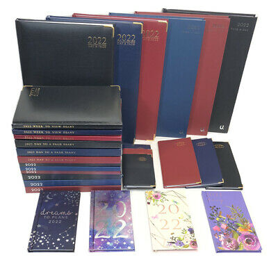 £6.99 • Buy 2022 Diary A4 A5 Pocket Slim Small Diary Week To View Diaries Gift Christmas---