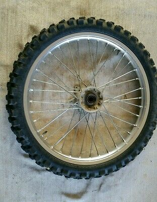 AU260 • Buy Yamaha Wr 250 F Front Wheel Rim And Tyre