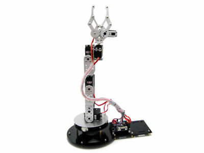 AU339.42 • Buy Finished 6 DOF Mechanical Robotic Arm Clamp Claw Mount Kit & Servos & Controller