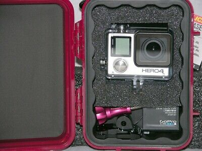$ CDN41.83 • Buy Pelican ™ 1020 Red Case Fits GoPro Hero6 6 5 4 3+ Black Edition Free Nameplate