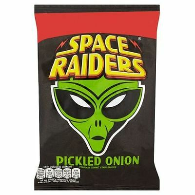 Space Raiders 25g X 36 Packs PICKLED ONION  Only £10.89 B/Before 1st May 2021 • 10.89£