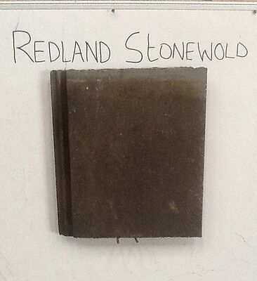 Reclaimed Redland Stonewold Concrete Roofing Tile • 2.40£