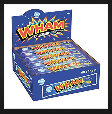 £7.49 • Buy Full Case Wham Chew Bars X 60 Bars Only £7.49  UK Tracked Postage