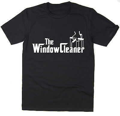 £7.99 • Buy The Window Cleaner - Funny T-Shirt - Godfather Spoof - Many Colours