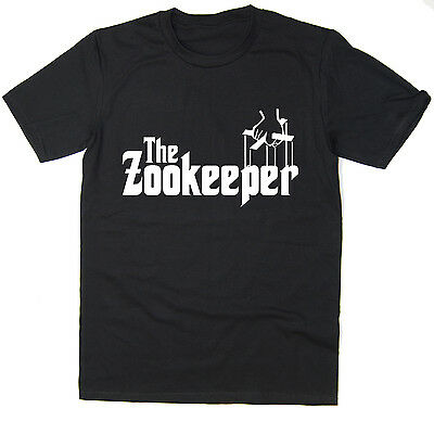 The Zookeeper - Funny T-Shirt - Godfather Spoof - Many Colours • 7.99£