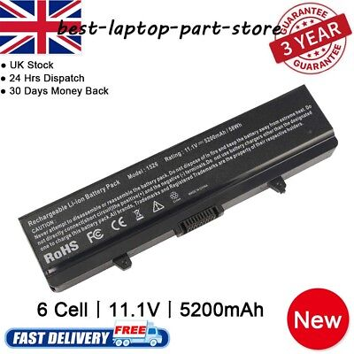New Battery For Dell Inspiron 1525 1526 1545 1546 GW240 X284G XR693 RN873 UK  • 14.99£