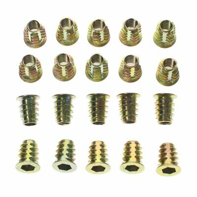 AU8.23 • Buy Qty 10 M6 Large Flange Nutserts 304 A2 Stainless Steel Rivet Nut Rivnut Nutsert