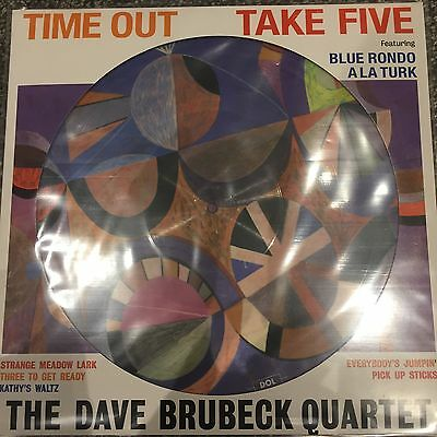 The Dave Brubeck Quartet - Time Out 'take Five' New 2017 Picture Disc Lp Vinyl • 12.95£
