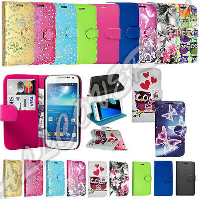 Samsung Galaxy J3 2016 J5 A3 A5 Mobile Phone PU Leather Wallet Book Case Cover • 3.49£