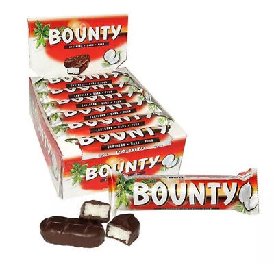 Bounty Dark 24 X 57g Bars Full Case Free Delivery Cheapest On EBay Only £16.99 • 16.99£