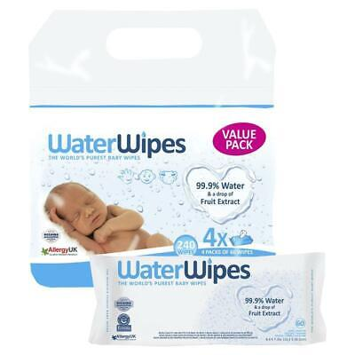 AU24.99 • Buy WaterWipes Value Pack 4x60 Wipes