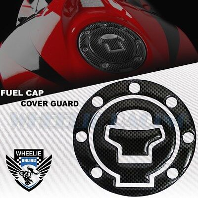 $13.89 • Buy Carbon Black Gas Tank Fuel Cap Cover Protection Guard 97-03 Gsxr-600/750/1000