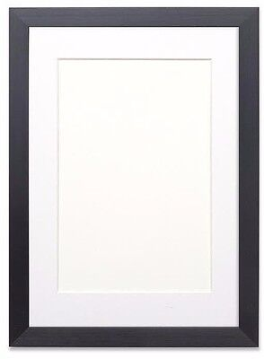 £7.50 • Buy Black Or White Photo Picture Frames With Quality Black , White Or Ivory Mounts