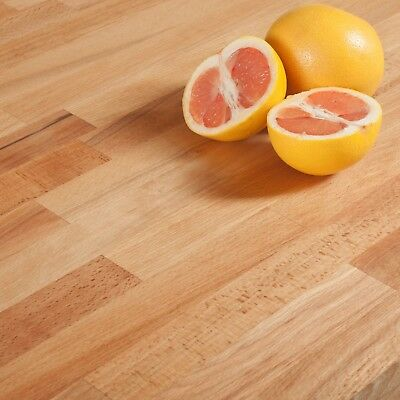 Farmhouse Beech Worktops, Rustic Solid Wood Countertop, Country Kitchen Tops • 17.99£