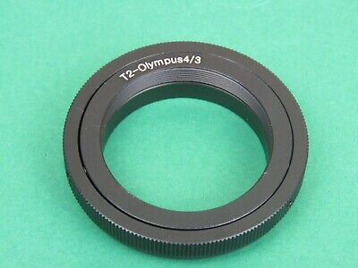 T2/T Lens Mount Adapter Ring 4/3 For Olympus E-600 E-510 E-500 E-450 E-5 E-3 E-1 • 7.05£
