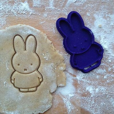 £7.25 • Buy Miffy Cookie Cutter. Rabbit Miffy Cookie Stamp. Animal Cookies