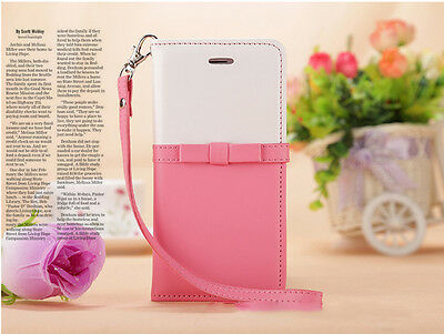 AU13.89 • Buy Magnetic Wallet Card Leather Stand Girl Gift Case Cover For IPhone 8 Plus 7 Plus